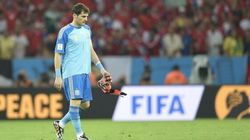 Sad Spanish Goalkeeper Puts A Face To A Nation's