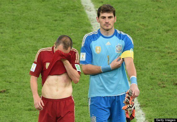 Spain's Defeated Goalkeeper Iker Casillas Expresses A Nation's Pain (TWEETS,
