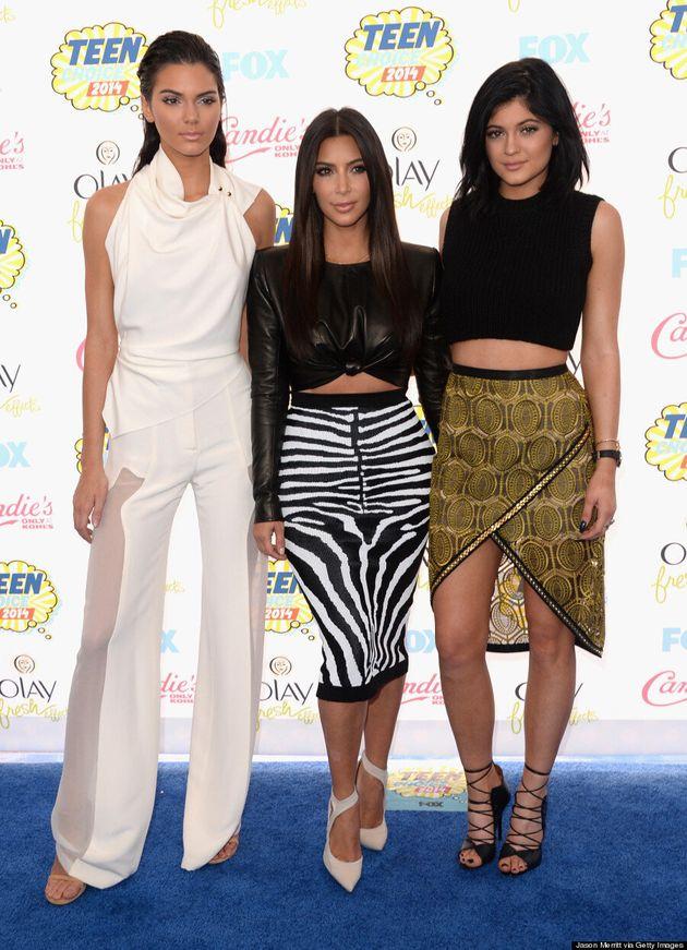 Kim Kardashian's Teen Choice Awards 2014 Look Is Red