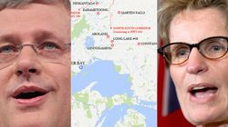 Harper, Wynne Meet To Talk Ring Of