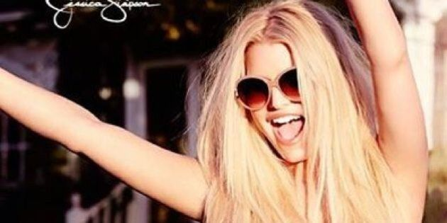 Jessica Simpson's Swimsuit Body Looks Gorgeous In New Ads