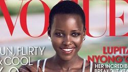 Lupita Nyong'o's Makes Her Vogue Magazine Debut .. And Nails