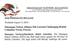B.C. First Nations Treaty Process Challenged In