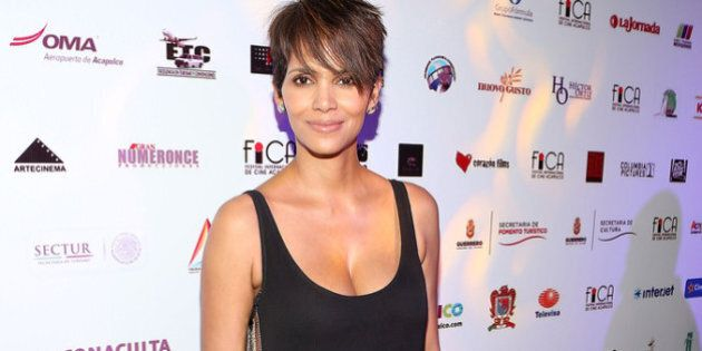 ACAPULCO, MEXICO - JANUARY 29: Actress Halle Berry attends the closing of the 9th annual Acapulco Film...