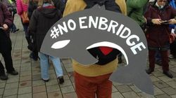LOOK: Thousands At 'No Enbridge'