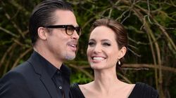 Angelina And Brad Get Hot And
