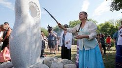 Monument Unveiled To Honour Canada's Missing, Murdered Aboriginal