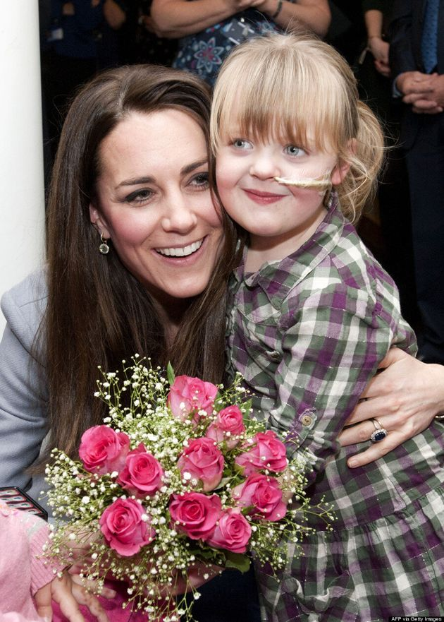 Kate Middleton Lets Her Hair Down Again While Visiting Children's Hospice