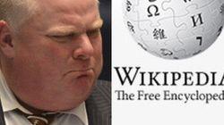 Vandals Hit Rob Ford Wikipedia