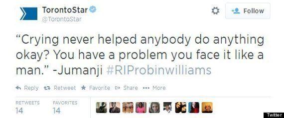 Toronto Star Slammed For 'Insensitive' Robin Williams