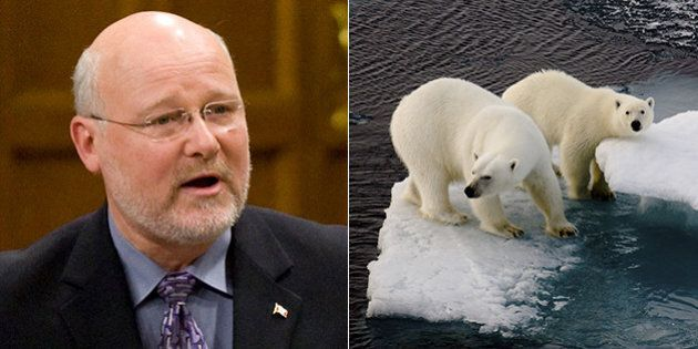 Conservative MP James Lunney Denies That Climate Change Science Is
