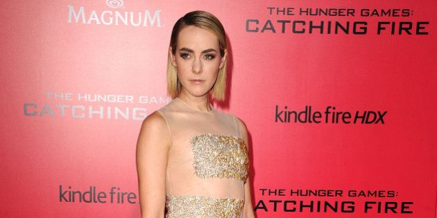 LOS ANGELES, CA - NOVEMBER 18:  Jena Malone arrives at the 'The Hunger Games: Catching Fire' - Los Angeles Premiere  at Nokia Theatre L.A. Live on November 18, 2013 in Los Angeles, California.  (Photo by Steve Granitz/WireImage)