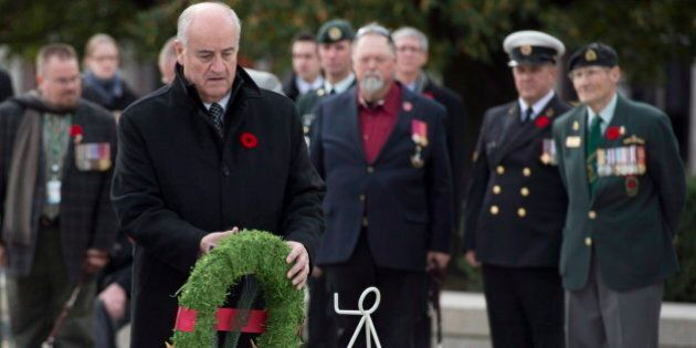 Julian Fantino, Veterans Affairs Minister, Seeks Clarity On Canada's Obligation To