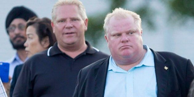 Rob Ford's Voter List Stolen By Rival Campaign, Doug Ford