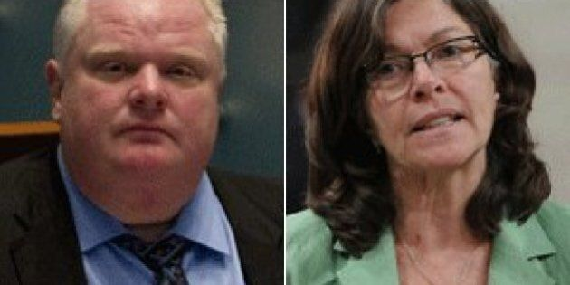 Rob Ford Surfaces In Debate Over First Nations Election