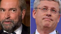 Mulcair, Harper Face Off Over