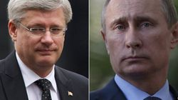 Harper Announces More Sanctions As Putin Puts Military On Combat