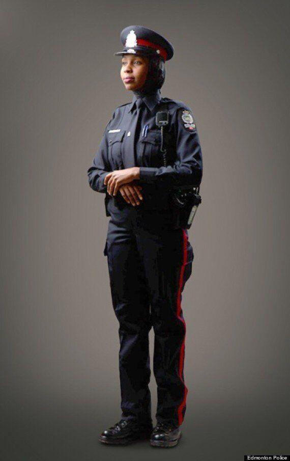 Hijab Uniform For Edmonton Police Approved