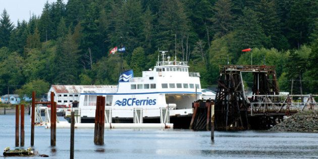 BC Ferries: LNG Ships Put Out To