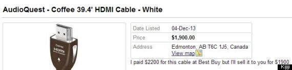 Someone Actually Bought A $2200 HDMI