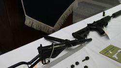 'Dr. Frankenstein' Of Weapons Stored Gun Parts Under Son's Car Seat: