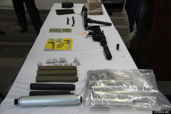 'Dr. Frankenstein' Of Weapons Arrested With Sub-Machine Gun Stored Near Son's Car