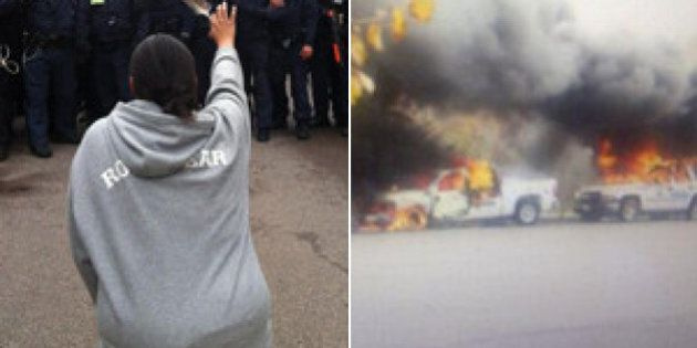 Elsipogtog Protest Clash With Police Had Federal Officials Worried About Another Idle No