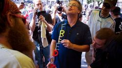 Vancouver Crowd, Clouds Of Pot Smoke Welcome Jailed Activist