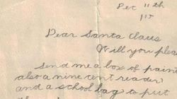 Santa Letter From 1915 Reminds Us What It's All