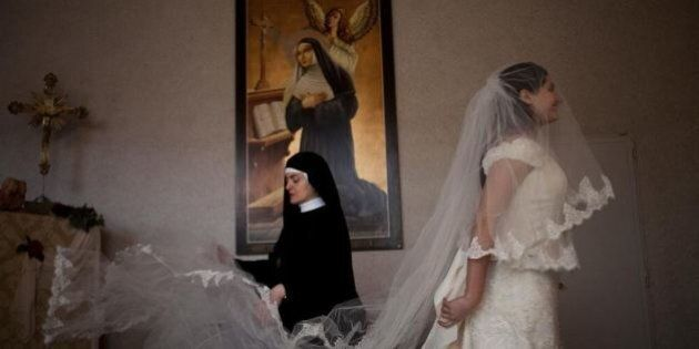 Wedding Dresses From St. Rita Monastery Are A Bride's