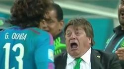 Mexico's Coach Delivers Best World Cup Goal Reaction