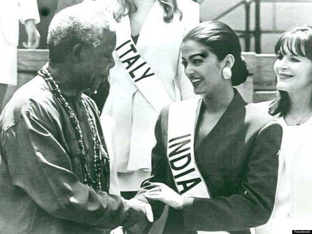 Aishwarya Rai Pays Tribute To Nelson Mandela