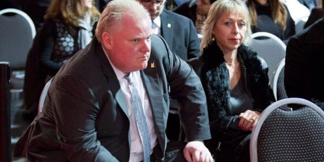 Rob Ford Suggests Woes Stem From Problems With Toronto Police