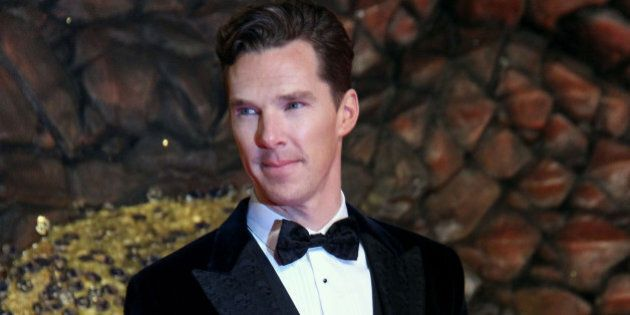 BERLIN, GERMANY - DECEMBER 09: Actor Benedict Cumberbatch attends the 'The Hobbit: The Desolation of...