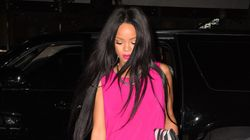 Rihanna's Hot Pink Dress Is