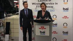 WiFi Comes To Toronto Subway, No Thanks To Big
