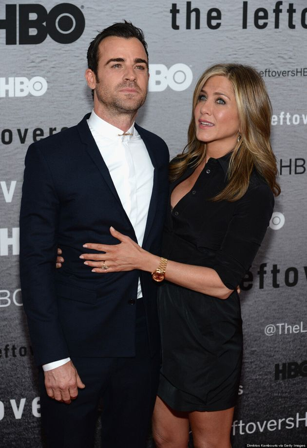 Jennifer Aniston Flashes Bra At First Red Carpet Appearance In