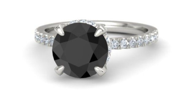 Black Diamond Engagement Rings: Unique Coloured Rings For Your Signficant Other