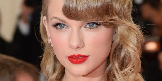 NEW YORK, NY - MAY 05: Musician Taylor Swift attends the 'Charles James: Beyond Fashion' Costume Institute...