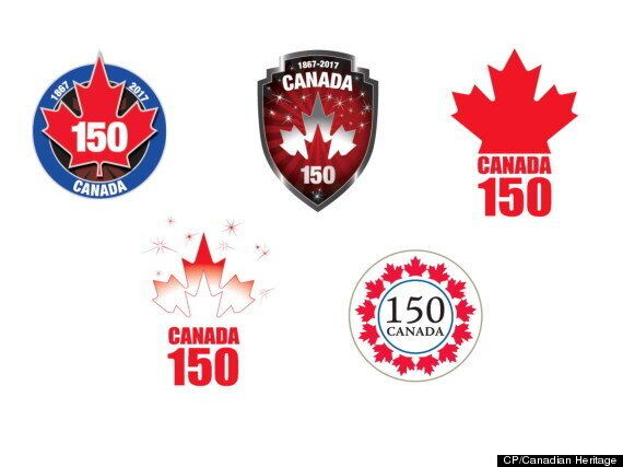 Logos For Canada's 150th Birthday You Won't Hate