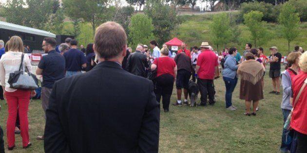 Justin Trudeau Receives RCMP Security Detail At Edmonton