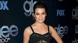 Lea Michele's Peek-A-Boo Dress Is Rather