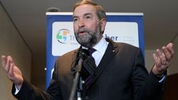 Mulcair: NDP Did Nothing