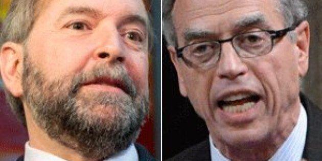 Joe Oliver 'An Embarrassment' As Finance Minister, Tom Mulcair