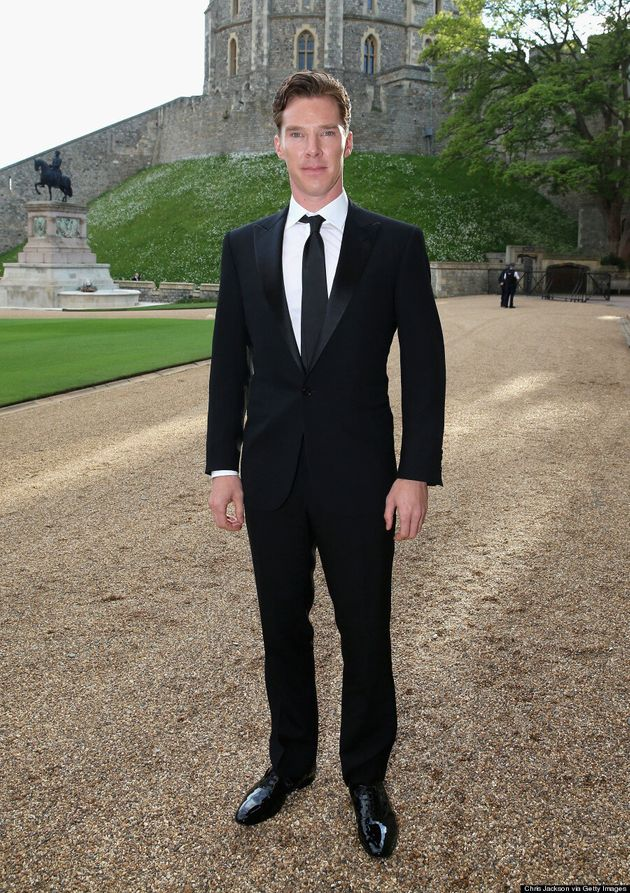 Benedict Cumberbatch Looks Even More Handsome Than Prince