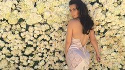 Kim Kardashian's Sexy See-Through