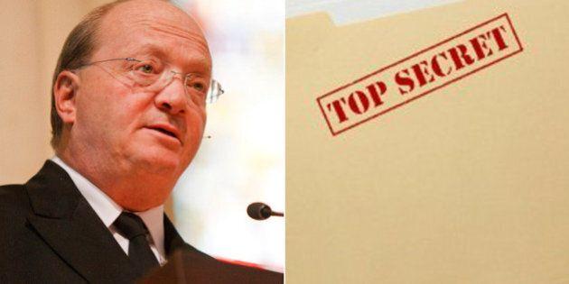 Hugh Segal, Conservative Senator Decries Lack Of 'Accountability' Of Spy