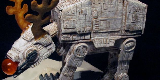 Star Wars AT-AT Gingerbread Walker Is Awesome