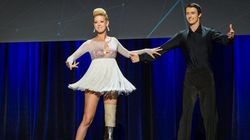 Boston Bombing Amputee Dances For 1st