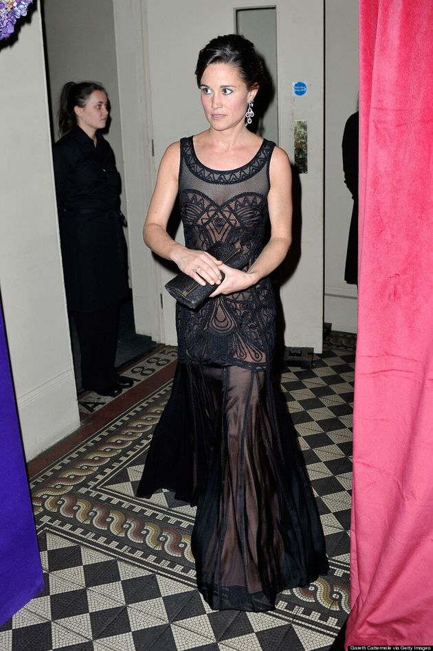 Pippa Middleton's Dress Would Probably Never Be Worn By Kate Middleton (VIDEO,